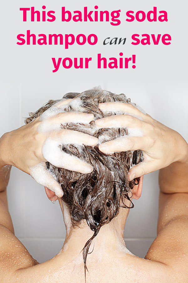 This baking soda shampoo can save your hair