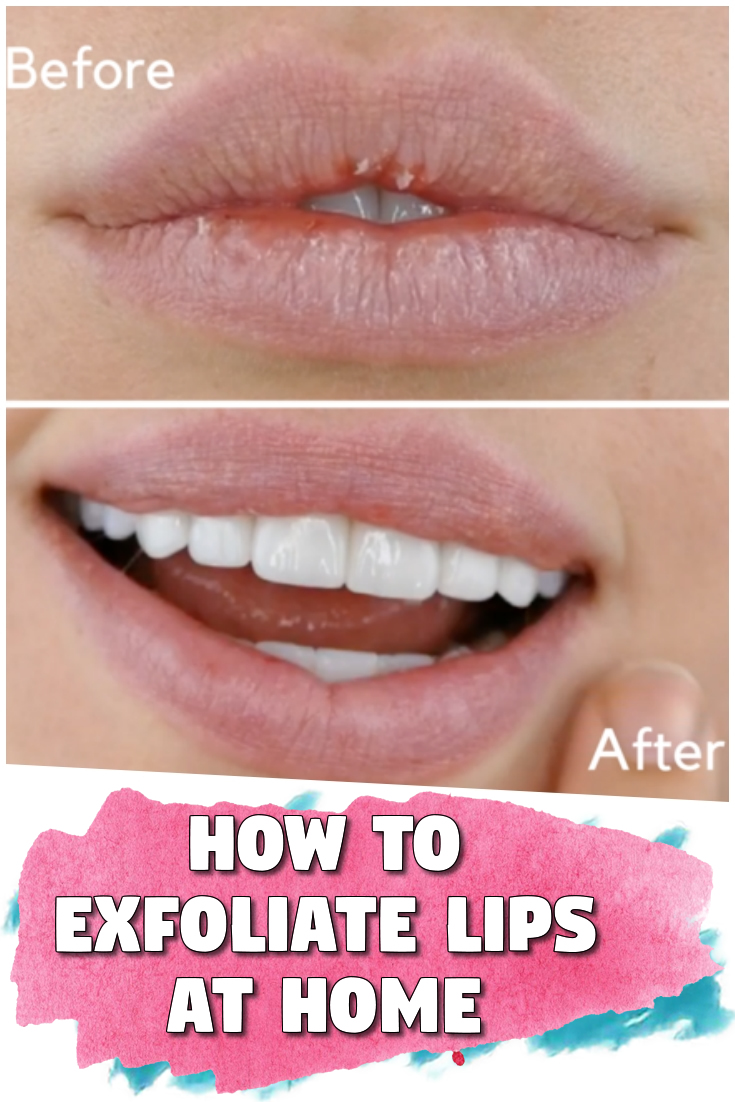 How to Exfoliate Lips At Home