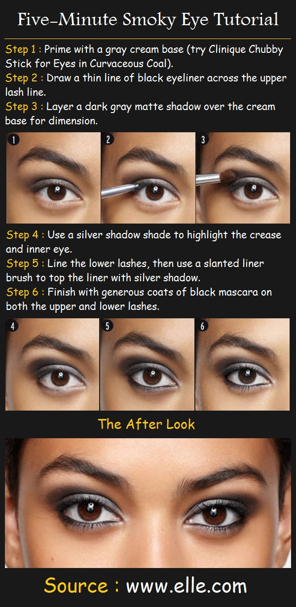 Five-Minute Smokey Eye Tutorial