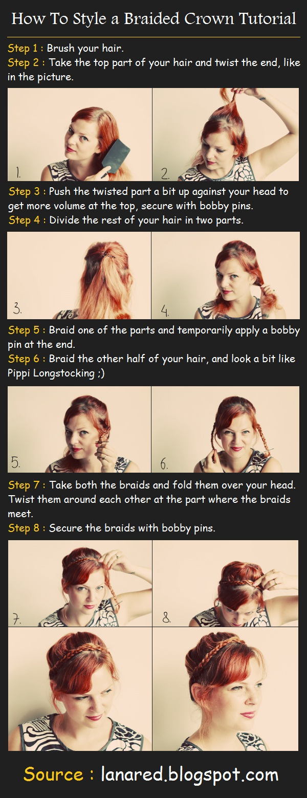 a Braided Crown Tutorial