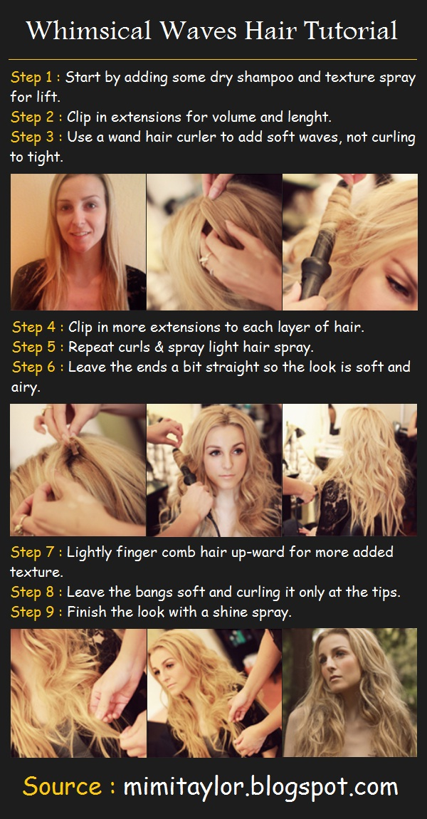How To Style a Whimsical Waves Hairstyle