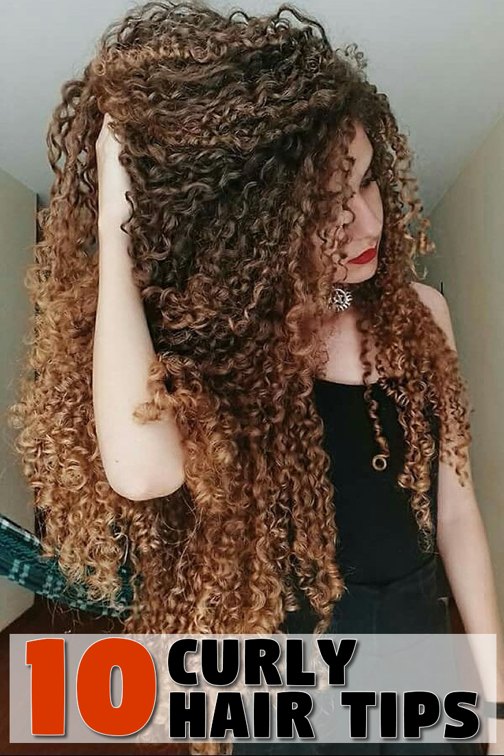 10 Curly Hair Tips