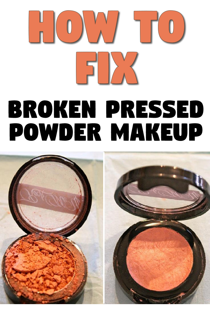 How to Fix Broken Pressed Powder Makeup
