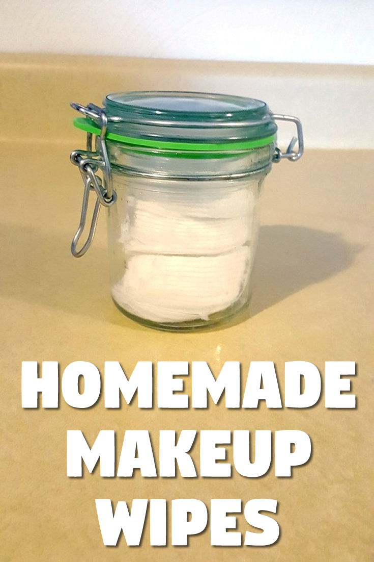 Homemade makeup wipes