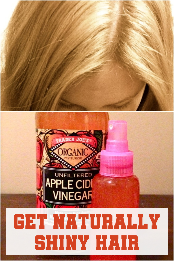 Get Naturally Shiny Hair
