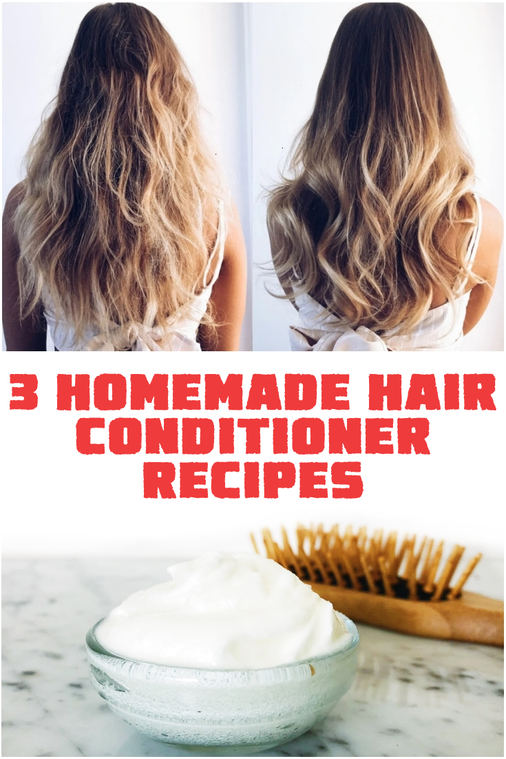 3 Homemade Hair Conditioner Recipes