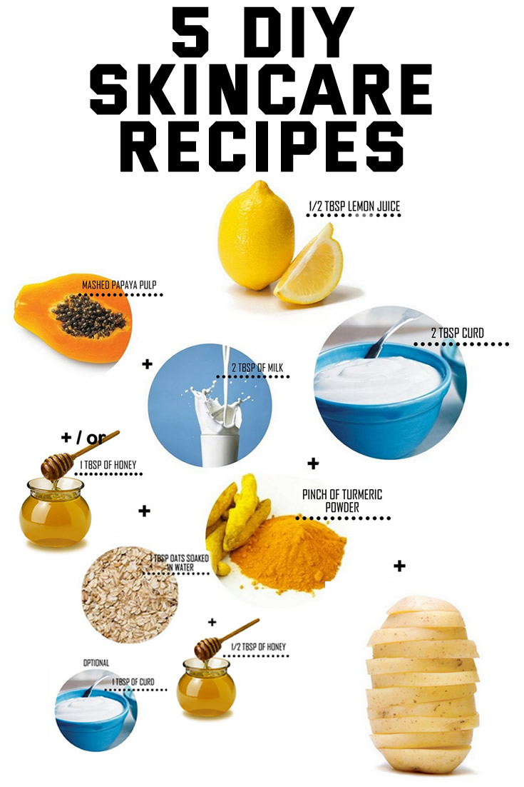 5 DIY Skincare Recipes
