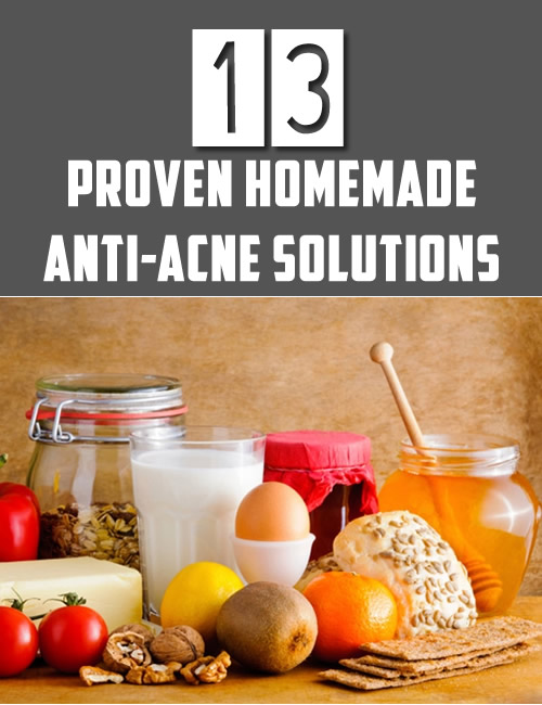 13 Proven Homemade Anti-Acne Solutions