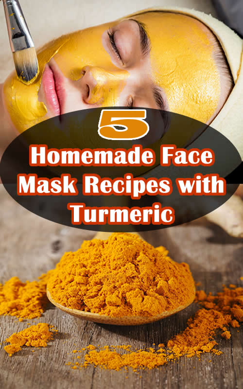 5 Homemade Face Mask Recipes with Turmeric
