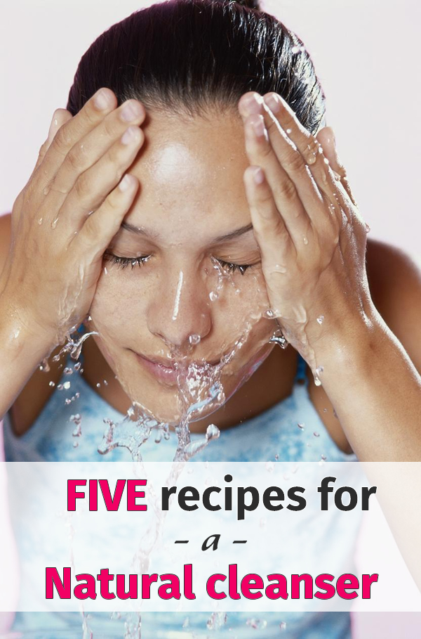 5 recipes for a natural cleanser