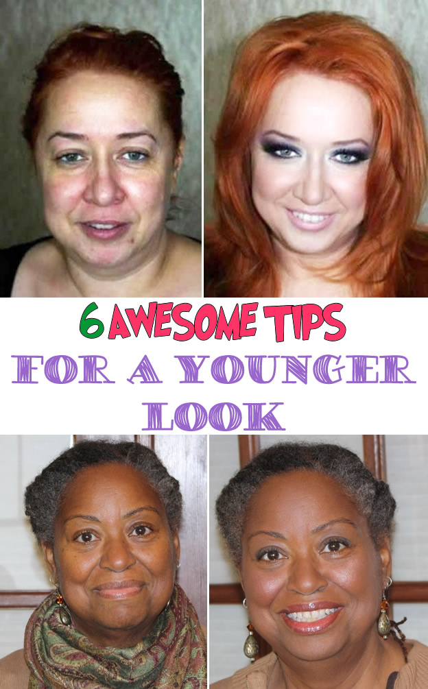 6 awesome tips for a Younger Look