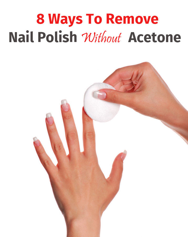 8 ways to remove nail polish without acetone