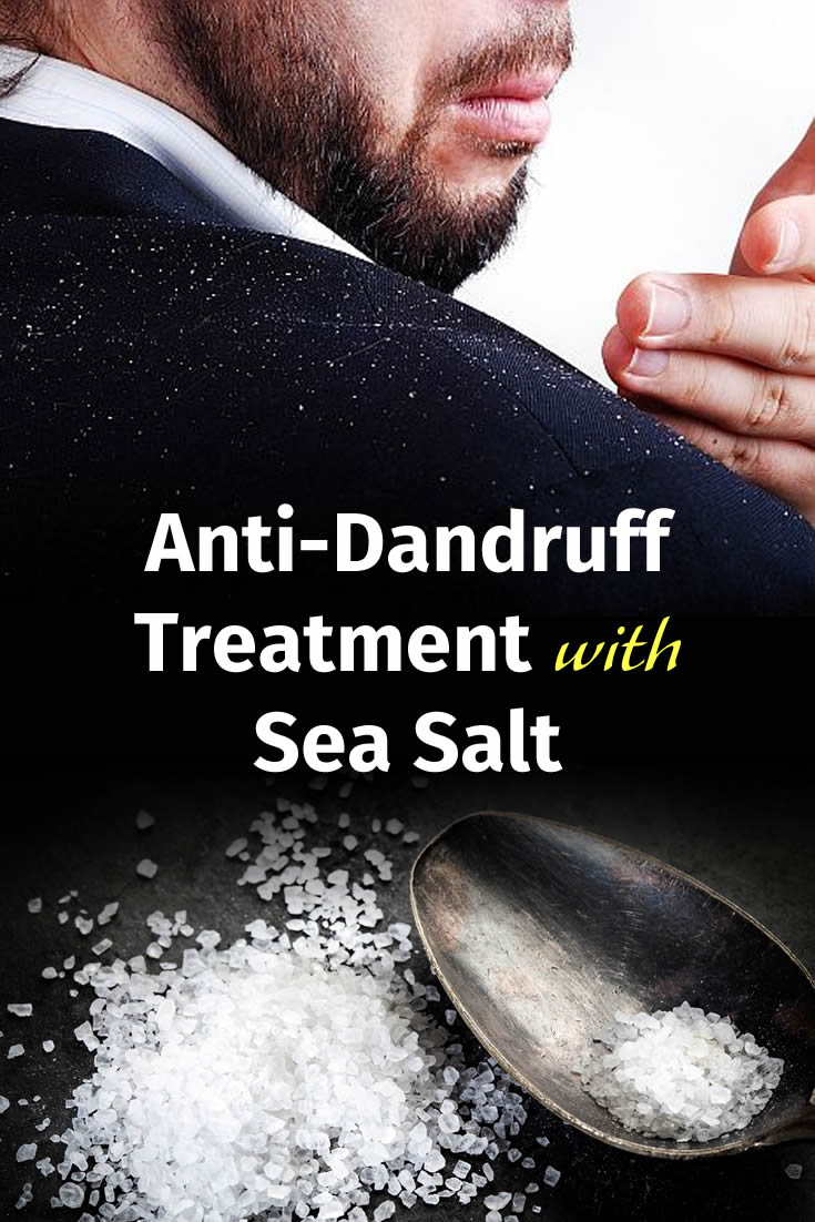 Anti-Dandruff Treatment with Sea Salt