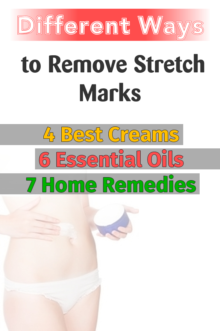 Different Ways to Remove Stretch Marks