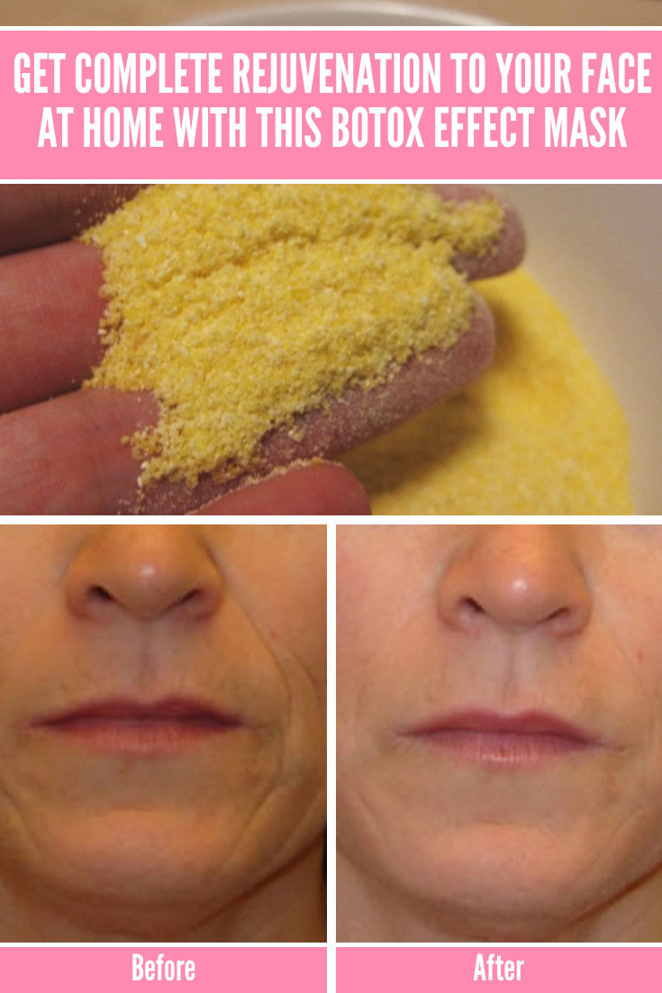 Get Complete Rejuvenation to Your Face At Home with This Botox Effect Mask