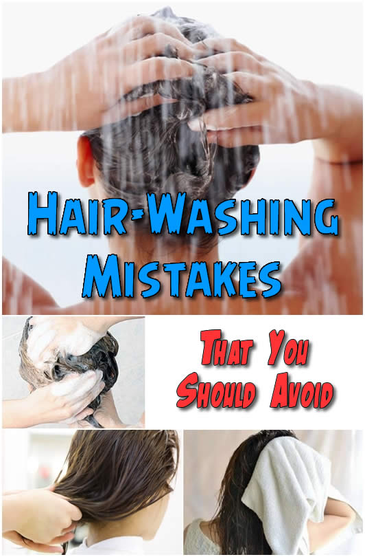 Hair-Washing Mistakes That You Should Avoid