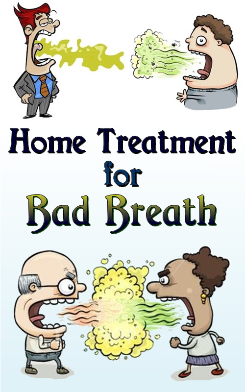 Home Treatment for Bad Breath