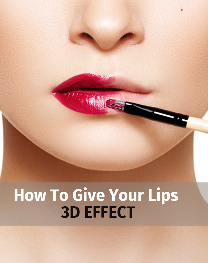 How to give your lips 3D effect
