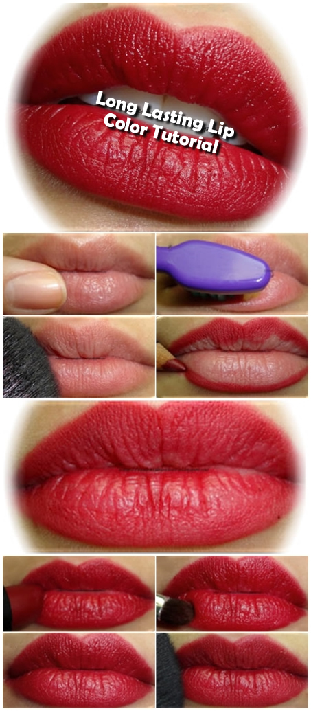 Long Lasting Lip Color Tutorial