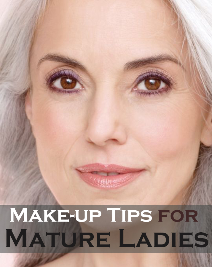 Make-up tips for mature ladies
