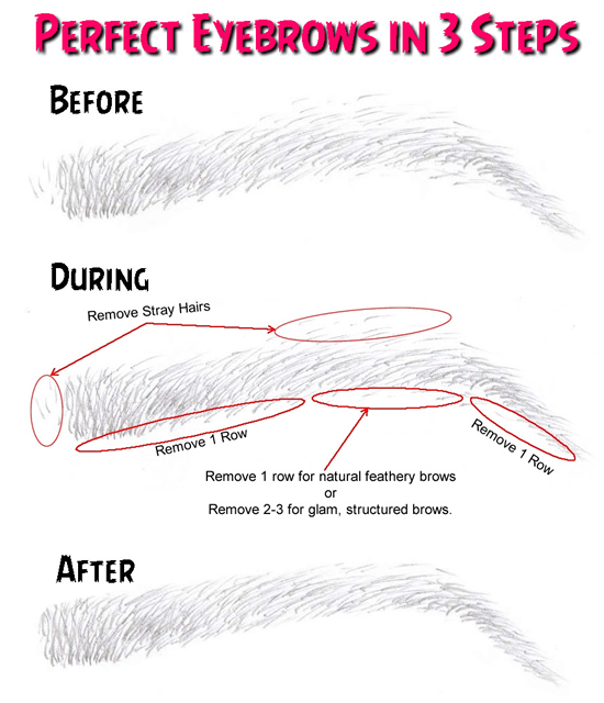 Perfect Eyebrows in 3 Steps