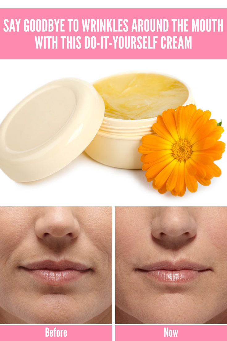 Say Goodbye to Wrinkles around the Mouth with This Do-It-Yourself Cream