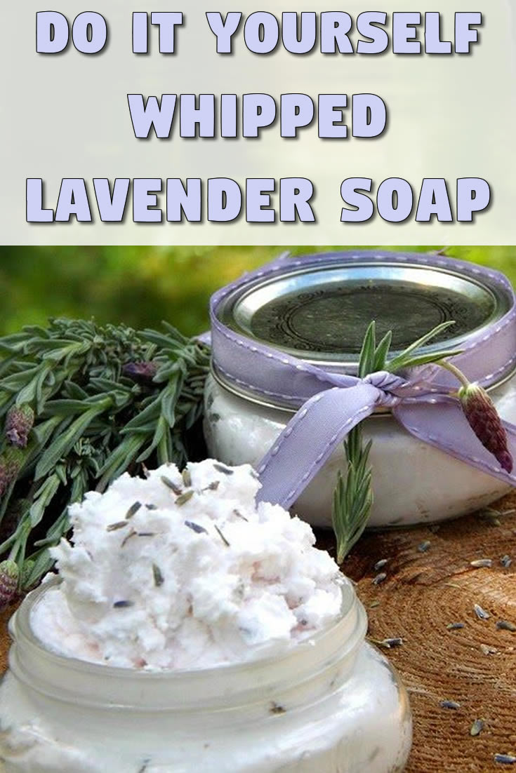 Whipped Lavender Soap
