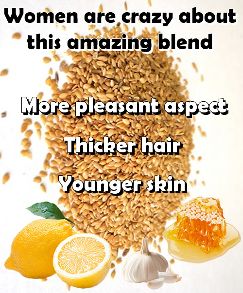 Women are crazy about this amazing blend! More pleasant aspect, thicker hair, younger skin!