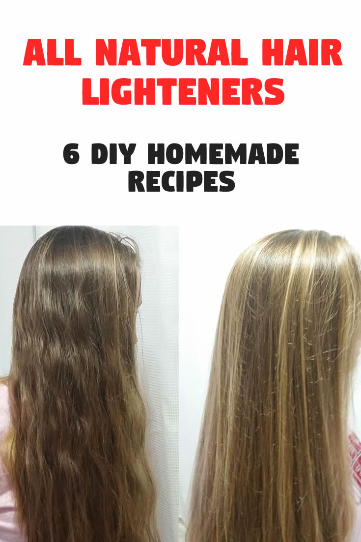 All Natural Hair Lighteners – 6 DIY Homemade Recipes