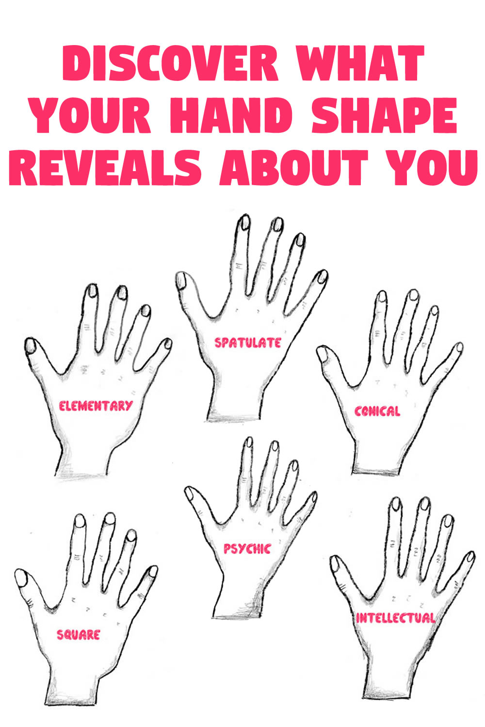 Discover what your hand shape reveals about You